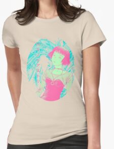 Paranoia Street - Neon Womens Fitted T-Shirt