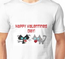 Cats Wish On Valentines Day Unisex T-Shirt