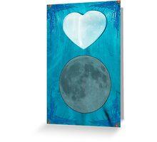 Hearts On Fire, Moon Glow 5878 Greeting Card