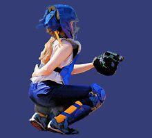 Softball Catcher And Stadium Painting Unisex T-Shirt