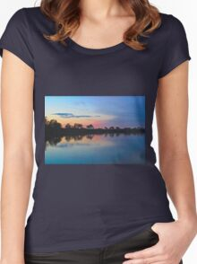 Peace on the Levee Women's Fitted Scoop T-Shirt