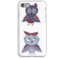 Two smart owls iPhone Case/Skin