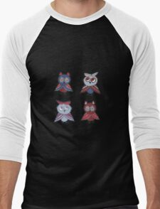 Two smart owls Men's Baseball ¾ T-Shirt