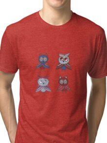 Two smart owls Tri-blend T-Shirt