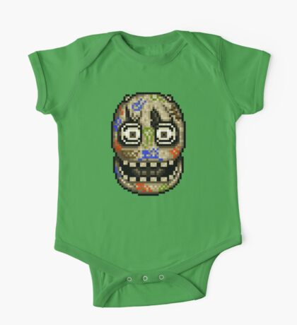Five Nights at Candy's - Pixel art - Blank animatronic One Piece - Short Sleeve