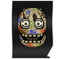 Five Nights at Candy's - Pixel art - Blank animatronic Poster