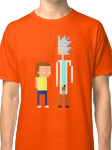 Rick and Morty Pixels  Classic T-Shirt