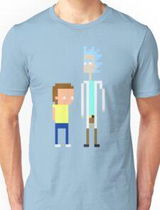 Rick and Morty Pixels  Unisex T-Shirt