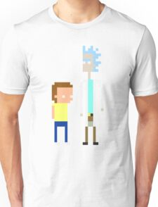 Rick and Morty Pixels  Unisex T-Shirt
