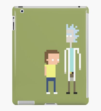 Rick and Morty Pixels  iPad Case/Skin