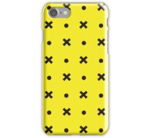 Felix The Cat Yellow Bag Pattern iPhone Case/Skin