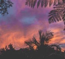 Marbled Sunset Sticker