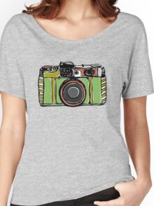 Vintage film camera big Women's Relaxed Fit T-Shirt