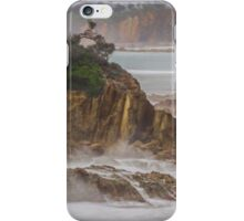 Rain at the Point iPhone Case/Skin