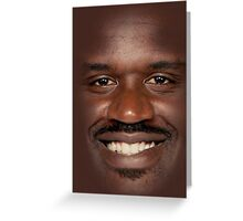 Shaq Fu Greeting Card