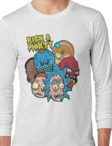 Rick and Morty Universe  Long Sleeve T-Shirt
