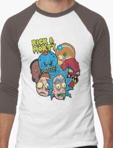 Rick and Morty Universe  Men's Baseball ¾ T-Shirt