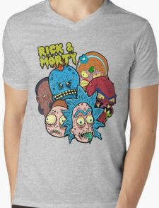Rick and Morty Universe  Mens V-Neck T-Shirt
