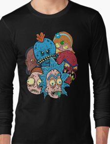 Rick nd Morty Long Sleeve T-Shirt