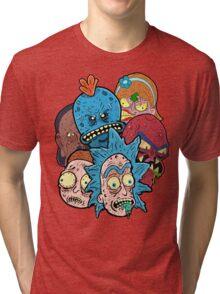 Rick nd Morty Tri-blend T-Shirt