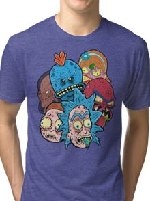 Rick nd Morty Tri-blend T-Shirt