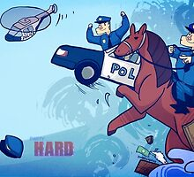 Party Hard - All the cops by Zennore