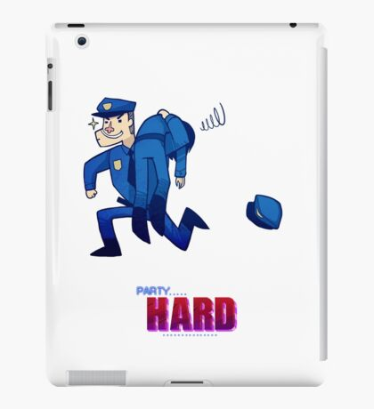 Party Hard - All the cops iPad Case/Skin