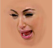 Kim Kardashian by Stove  Aya