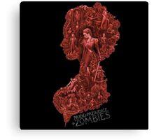 Pride and Prejudice and Zombie The Movie 2016 Canvas Print