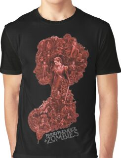 Pride and Prejudice and Zombie The Movie 2016 Graphic T-Shirt