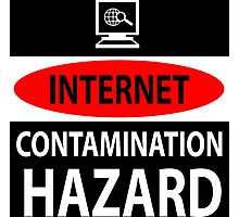 Internet – contamination hazard Photographic Print