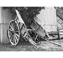 Old Horse Drawn Cart..... Photographic Print