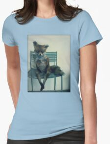Stoned Fox. Womens Fitted T-Shirt