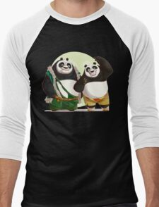 Kung Fu Pand 3 Po and Li father and son T-Shirt