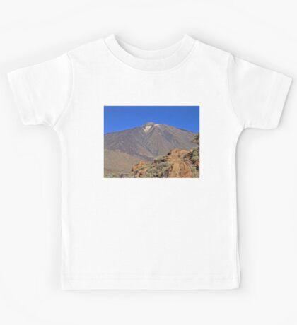 Mount Teide Tenerife Kids Tee
