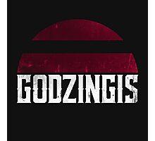 Godzingis (white) Photographic Print