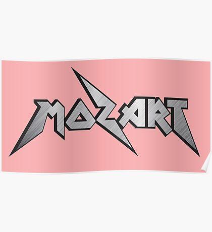 Mozart Logo Poster