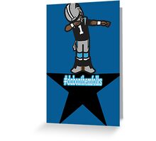 STAR DAB ON Them Folks Greeting Card