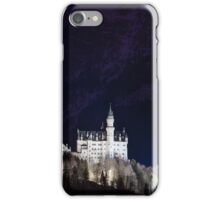 Neuschwanstein Castle at Night iPhone Case/Skin