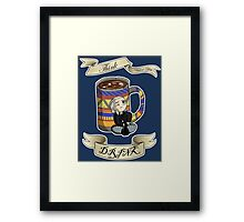 Think Before You Drink Framed Print