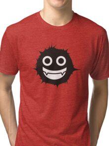 Black and white emoticon Tri-blend T-Shirt