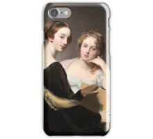 Thomas Sully - Portrait of the Misses Mary and Emily McEuen iPhone Case/Skin