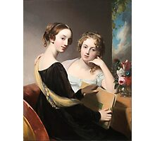 Thomas Sully - Portrait of the Misses Mary and Emily McEuen Photographic Print