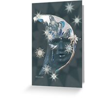 Étoile de Neige  - Snow Star Greeting Card