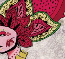 Bali Fruit woman Sticker