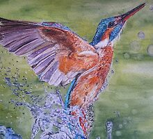 MAKING A SPLASH by Marilyn Grimble