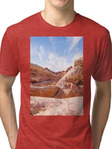 Valley of Fire State Park, Nevada Tri-blend T-Shirt