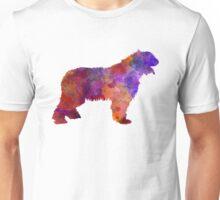 Romanian Mioritic Shepherd Dog in watercolor Unisex T-Shirt
