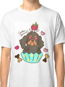 Cooker Spaniel Cupcake - Black Tan Classic T-Shirt