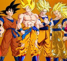 Goku Evolution Sticker